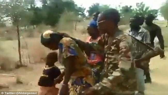 Another way to placate the West: French Cameroun soldiers jailed for murdering women and children