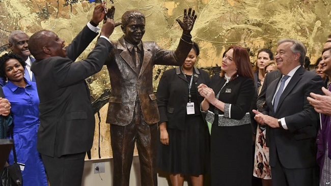 World Leaders Recommit to Peace in Honor of Mandela