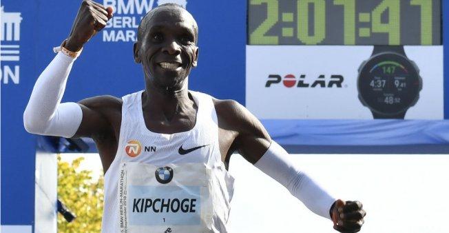 Bundes: Kenya's Kipchoge breaks marathon world record in Berlin