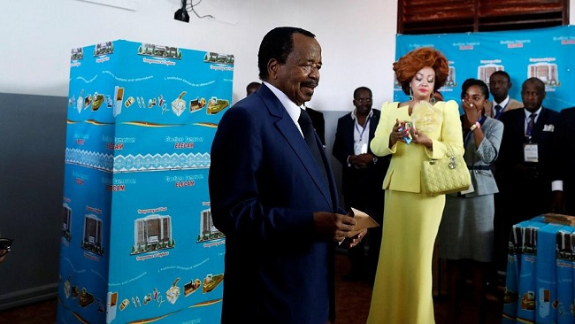 """European Union urges Cameroon """"president-elect"""" to unite country"""