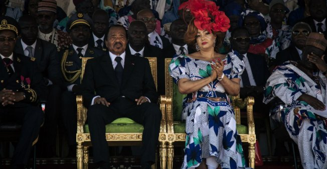 First Lady Chantal Biya meets wife of UN Secretary General