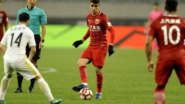 Chinese football imposes salary cap in new spending crackdown