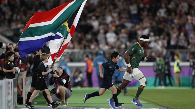 Rugby World Cup: Historic black captain leads South Africa to victory