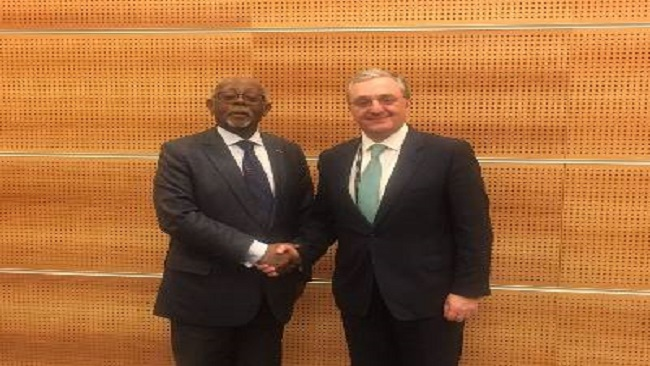 Monaco: French Cameroun Foreign Minister meets Armenian counterpart