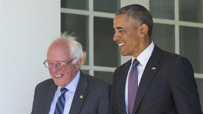 US: Obama reportedly said he would speak up to stop Sanders