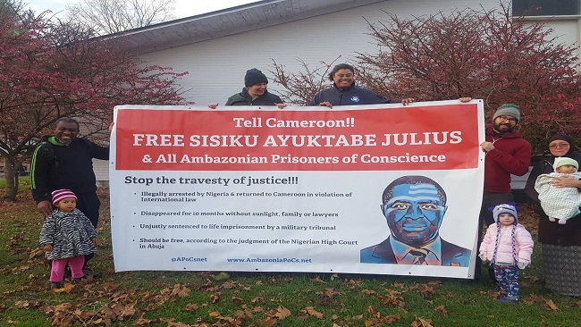 Call for support for Ambazonian prisoners of conscience on Prisoners for Peace Day