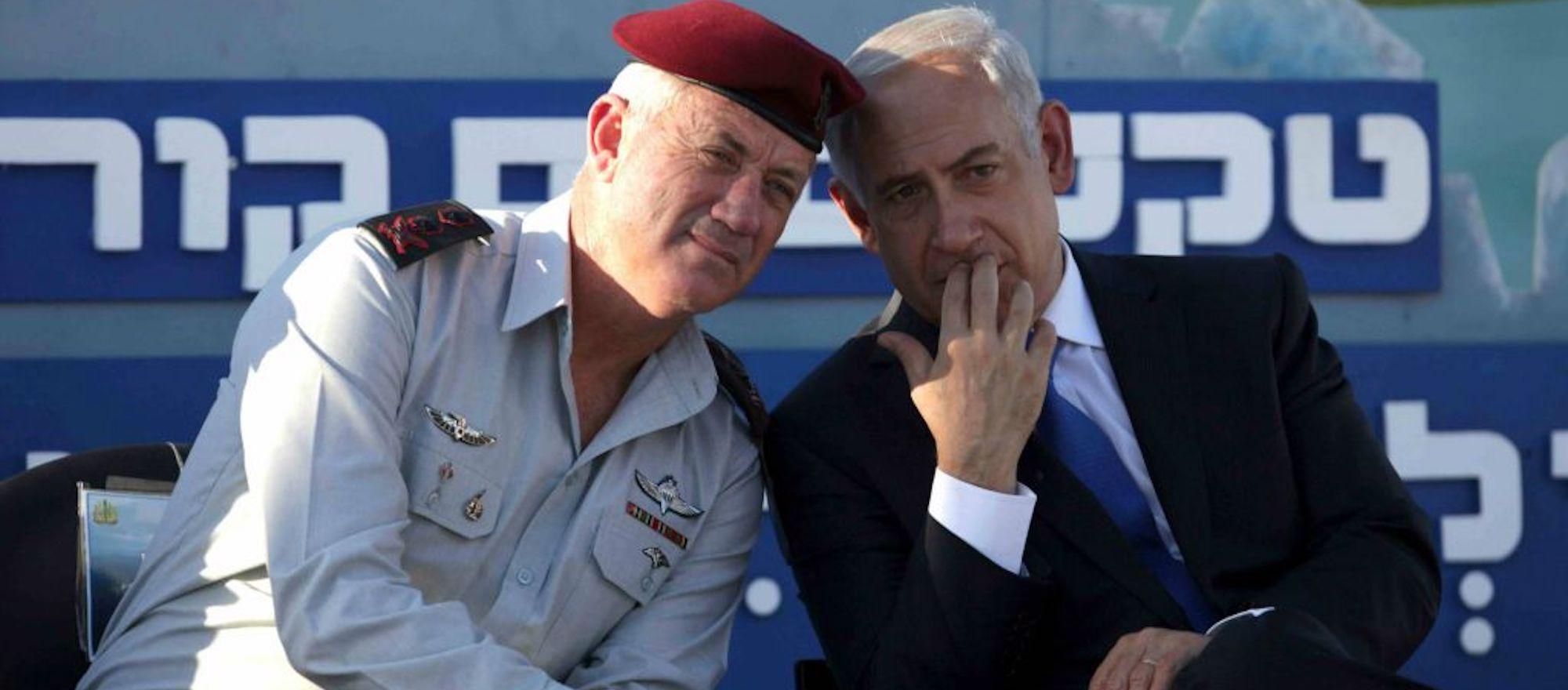 Israeli party leader Gantz says Netanyahu threatening 'civil war'