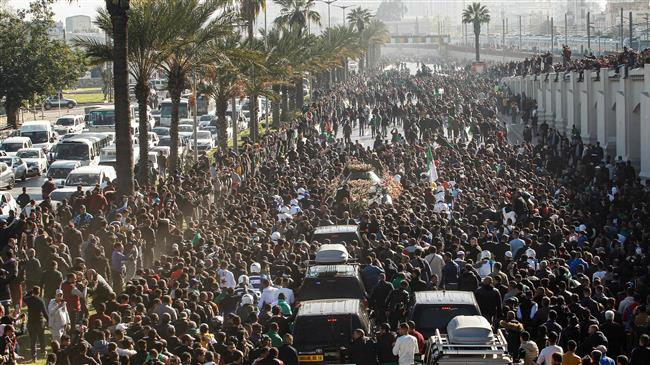 Algeria starts funeral of army chief Gaid Salah