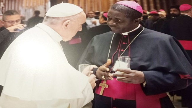 Resignations and Appointments: Bishop Andrew Nkea is metropolitan Archbishop of Bamenda