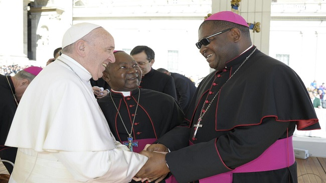 The Holy Father appoints Bishop Michael Bibi as Apostolic Administrator of Buea Diocese