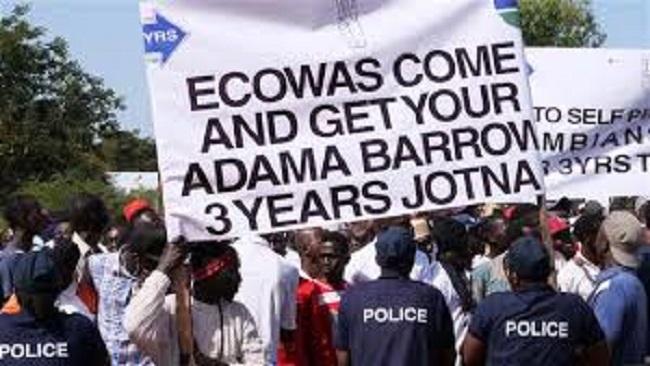 Gambia: Thousands demand President Barrow step down