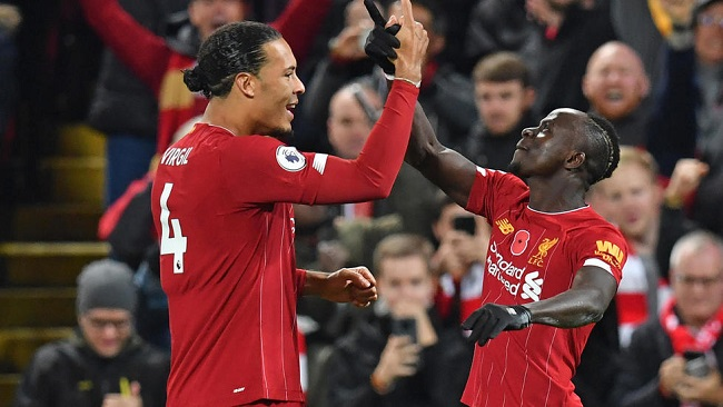 Football: Liverpool crushes Leicester City to go 13 points clear