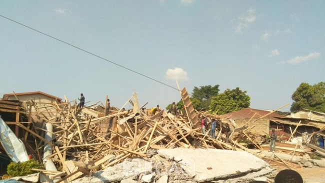 Four dead in Yaounde building site collapse