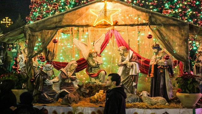 World pilgrims flock to Bethlehem for Christmas celebrations