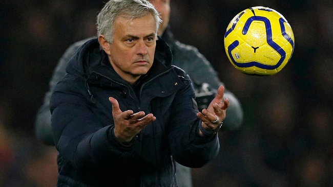 Football: Mourinho says no quick fixes for Spurs in transfer window