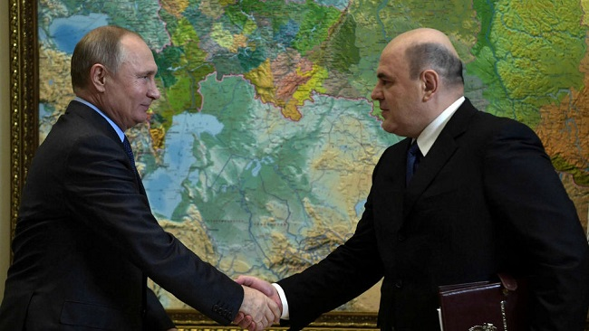 Russia's Mikhail Mishustin: the unknown tax chief surprisingly promoted to Prime Minister by Putin