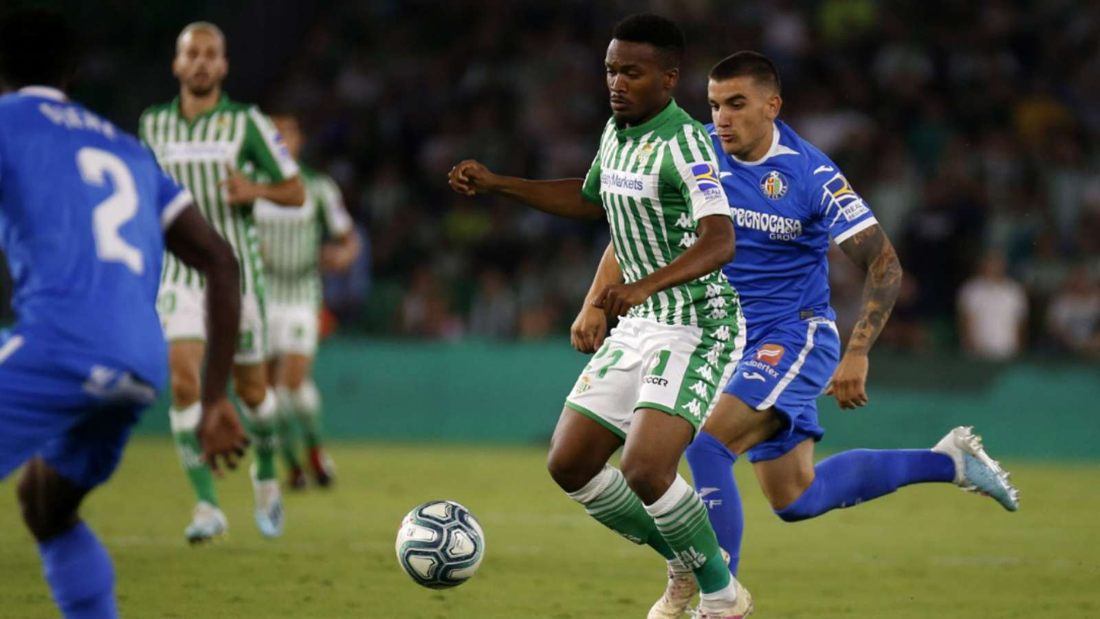 Cameroonian Real Betis midfielder joins Almeria on loan