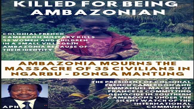 UN: Southern Cameroons lives should matter too