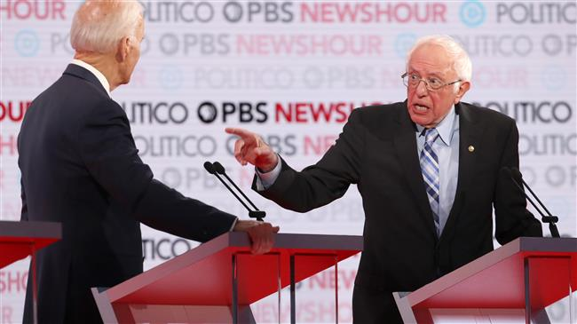 US Politics: Bernie Sanders leads Democratic presidential candidates by 12%