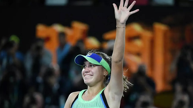 Tennis: American Sofia Kenin wins Australian Open to claim first Grand Slam title at 21