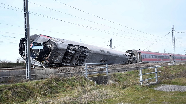 Two train drivers killed in Italy high-speed rail crash