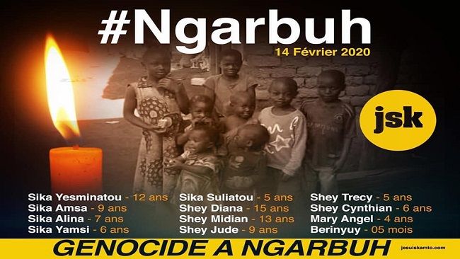 Biya regime told transparency, accountability needed for Ngarbuh Killings