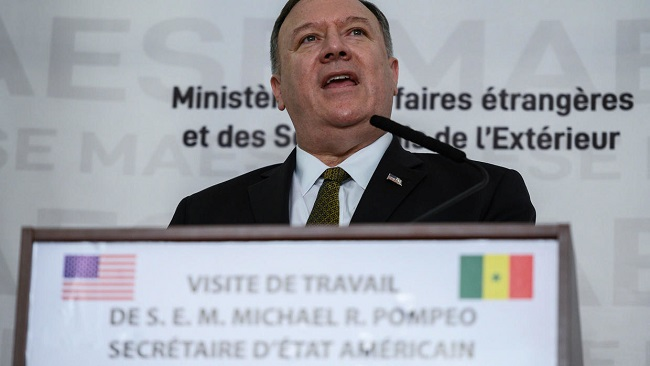 US Secretary of State Pompeo vows 'collective' approach to Africa troop presence