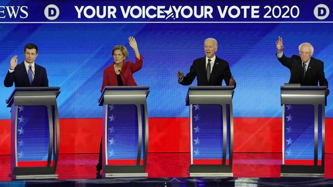US Politics: Iowa winners, Sanders and Buttigieg come under attack in Democratic debate