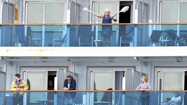 Coronavirus-hit cruise ship prepare to dock in California