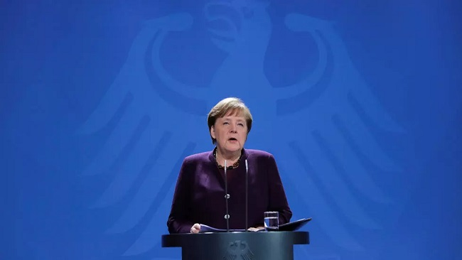 German Chancellor Merkel says Covid-19 has exposed the limits of 'fact-denying populism'