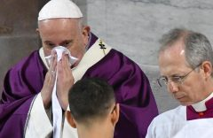 Pope Francis appears in video promoting Covid-19 jabs as 'act of love'