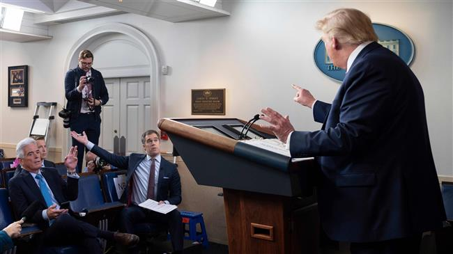 Trump attacks NBC News reporter after being asked about Americans worried about coronavirus