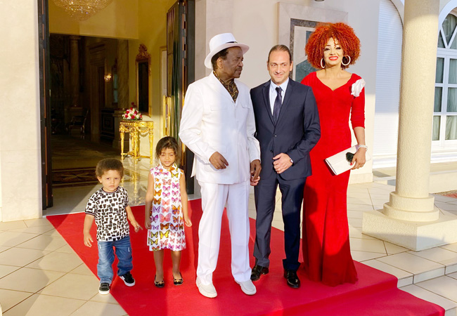 Biya suffers 'minor stroke'