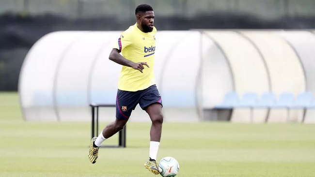 Football: Umtiti suffers calf knock in second Barca training session