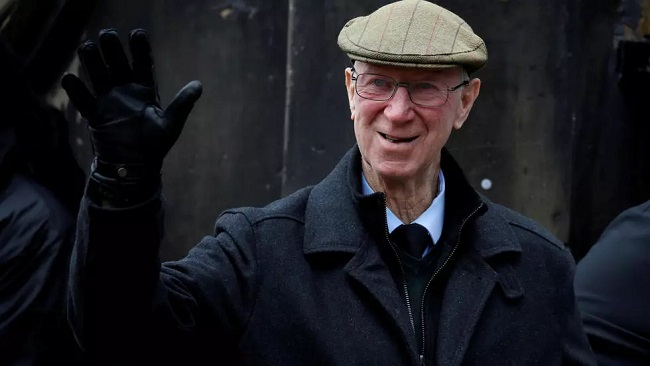 Jack Charlton, icon of English and Irish football goes home to rest