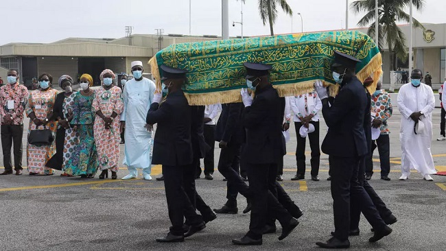 Ivory Coast PM Coulibaly laid to rest after shock death