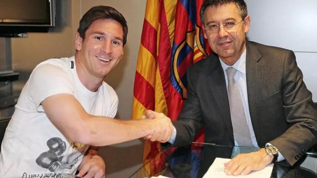 Barcelona president: 'We have obligation to re-sign Messi'