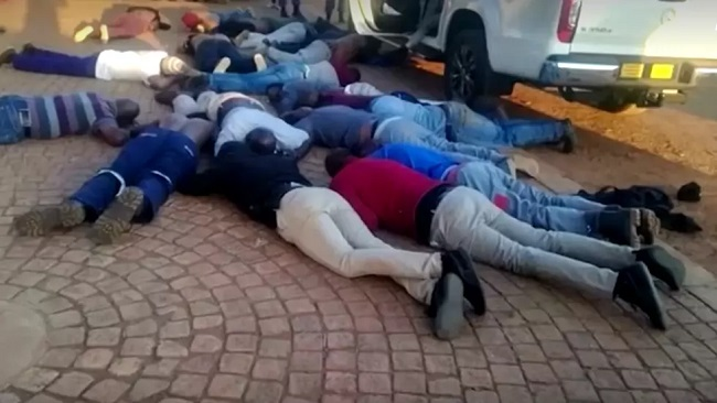 Five killed after armed attack on South African church