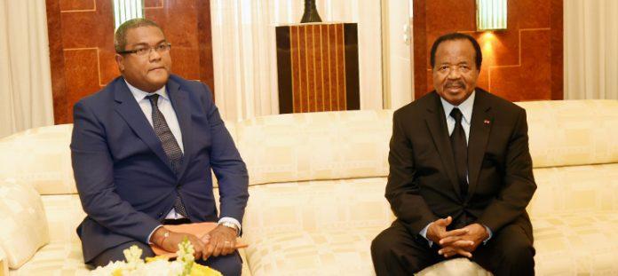 Yaounde: Biya holds talks with Burkina Faso envoy on security, COVID-19