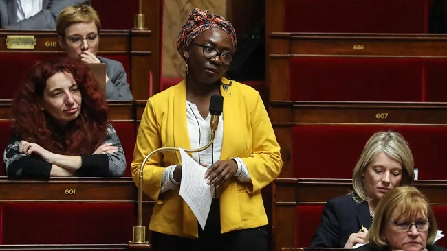 French magazine depicts Black MP as a slave