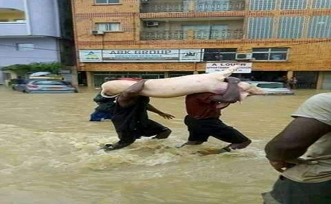 French Cameroun: Douala battles mounting flood peril