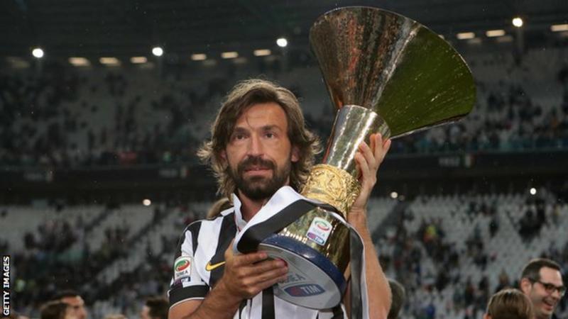 Football: Juventus appoint Andrea Pirlo to replace Maurizio Sarri