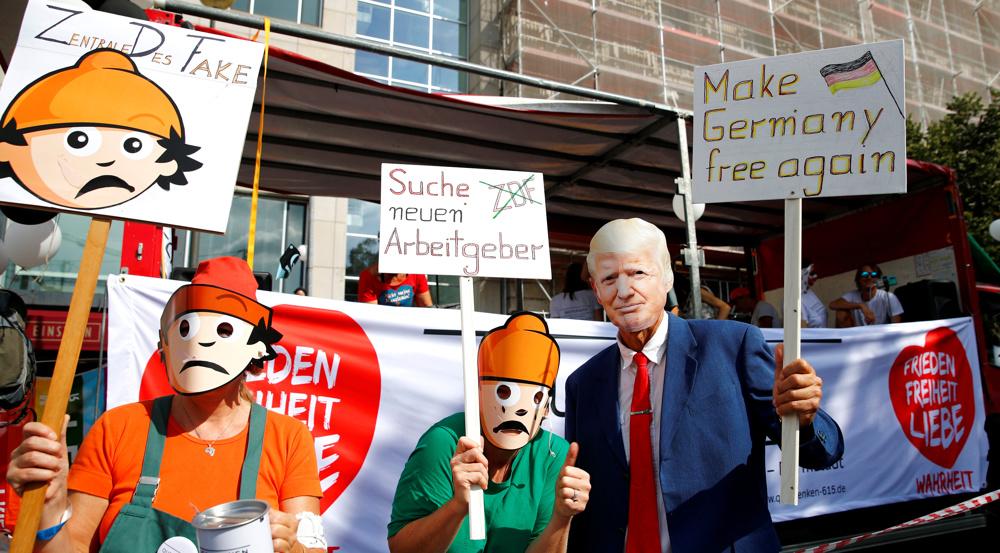 Bundes: Germans view Donald Trump more frightening than coronavirus