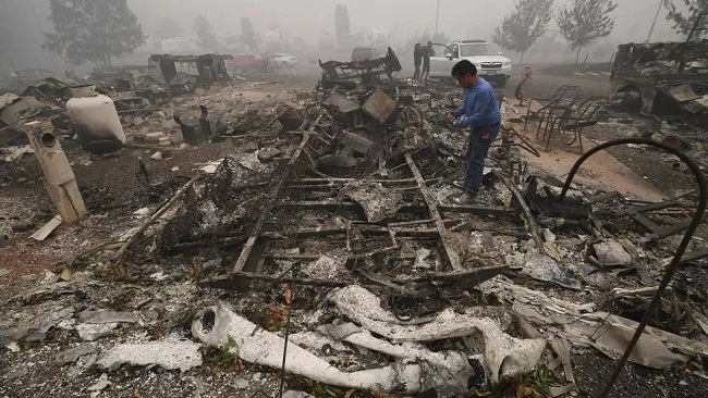 Death toll in US wildfires expected to rise sharply