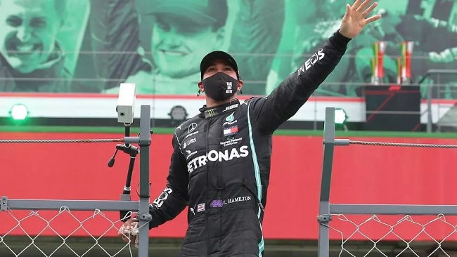 F1 world champion Lewis Hamilton positive for Covid-19