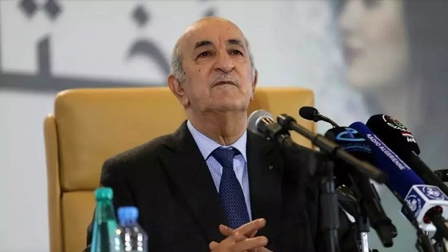 Algerian president Tebboune transferred to German hospital amid Covid-19 fears