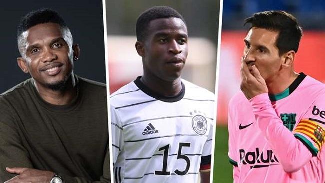 Eto'o says Moukoko should be Messi's successor at Barcelona