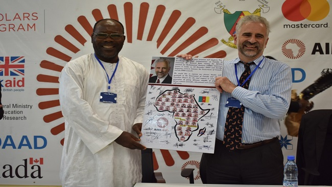 Yaoundé: Canada's High Commissioner visits Aims-Cameroon, learns about the next Einstein Initiative