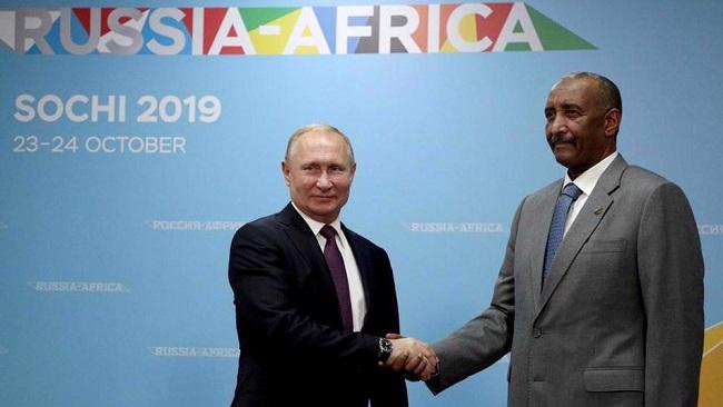 Russia's Putin approves establishment of naval base in Sudan