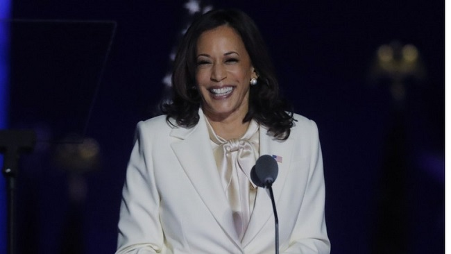 US Vice President Harris vows to strengthen ties with France